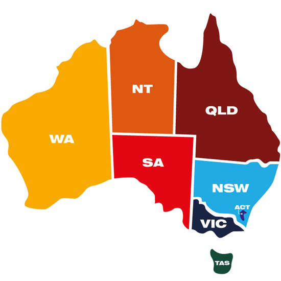 Map Of Australia For Students.Home